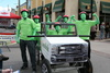 DenBok Landscaping Team at the Amazing Bed Race